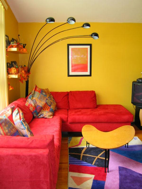 بهترین رنگ برای خانه های کوچک 1