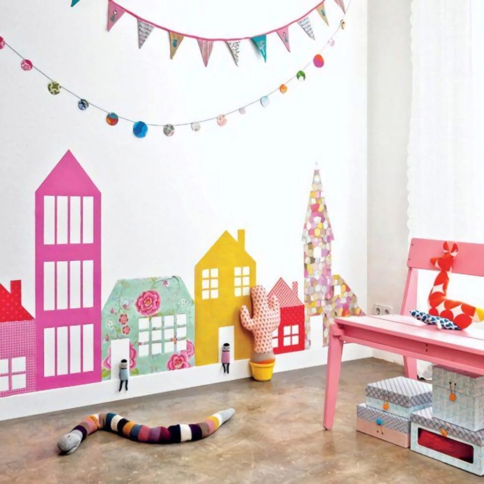 چیدمان اتاق کودک با وسایل ساده 2